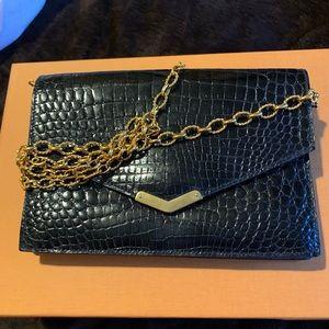 Handbags - Vintage Crocodile style skin in leather texture